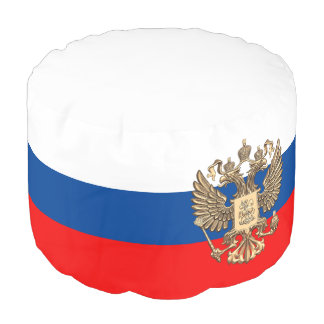 Pouf Drapeau russe
