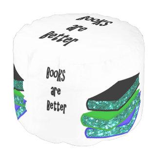 Pouf Les livres sont meilleurs