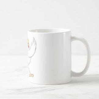 Poule heureuse de poulet mug