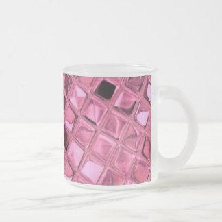 Poule mouillée rose Girly métallique brillante de Tasses