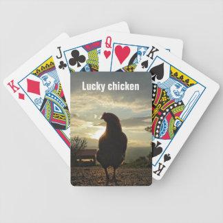 Poulet chanceux 01,2 jeux de cartes