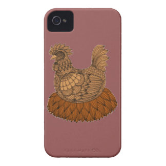 Poulet Coque iPhone 4
