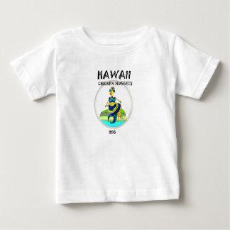 Poulet de sirène de pépites de poulet d'Hawaï T-shirt Pour Bébé