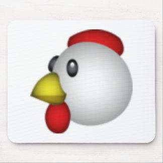 Poulet - Emoji Tapis De Souris