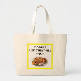 poulet grand sac