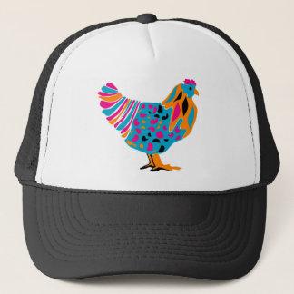 Poulet lumineux génial casquette