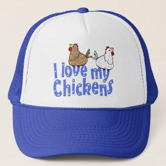 Poulets d'amour - casquette