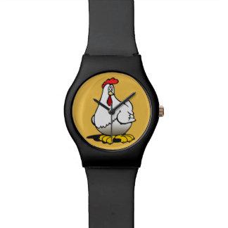 poulets montres