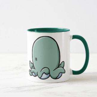 Poulpe de bande dessinée mug