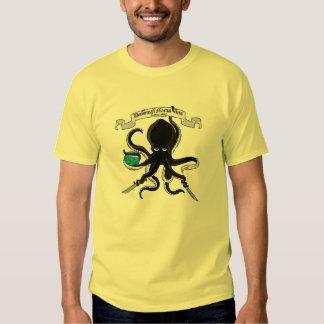 Poulpe de combat, Assn. dominicain d'arts martiaux T-shirt