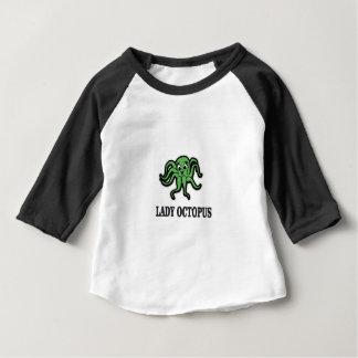 poulpe de dame ouais t-shirt pour bébé