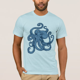 Poulpe de mer profonde t-shirt
