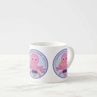 Poulpe de tasse de café de spécialité pour un