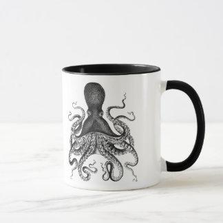 Poulpe vintage mug