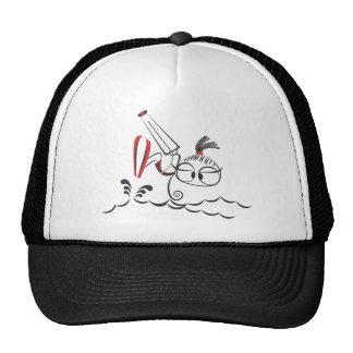 Poupée de kitesurf casquettes de camionneur