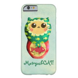 Poupée de Matryoshka de chat Coque iPhone 6 Barely There