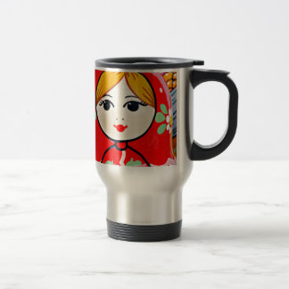 Poupée de Matryoshka Mug De Voyage