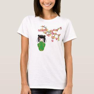 Poupée de Sakura Kokeshi, T-shirt