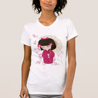 Poupée de Sakura Kokeshi T-shirts