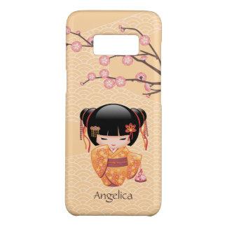 Poupée d'Ume Kokeshi - fille de geisha japonaise Coque Case-Mate Samsung Galaxy S8