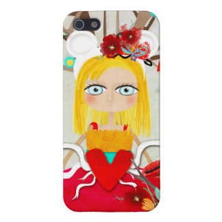 Poupée japonaise de geisha - Sakura iPhone 5 Case