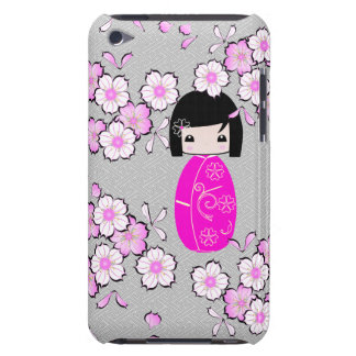 Poupée personnalisée de kokeshi, caisse d'iPod Coque iPod Touch