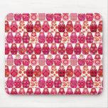 poupée russe rose tapis de souris