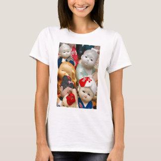 Poupées chinoises de porcelaine t-shirt
