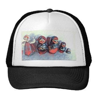 Poupées de danse casquettes