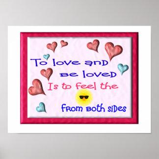 pour aimer et être aimé affiche