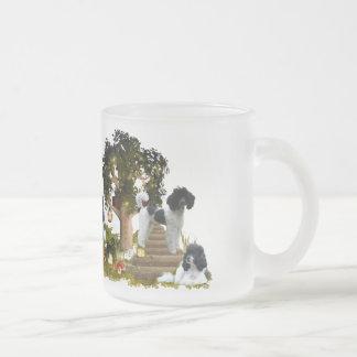Pour - des amants de caniche mug à café