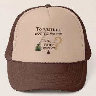 Pour écrire ou ne pas écrire casquette