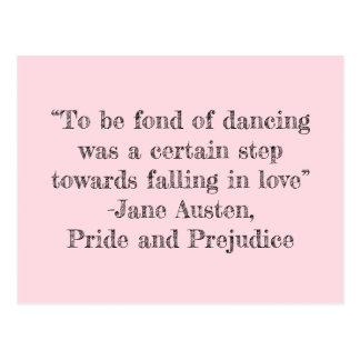 Pour être fanatique de la carte postale de danse