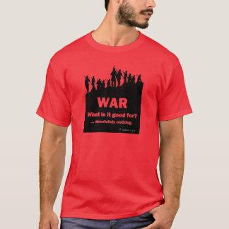 Pour Guerre-quoi est-ce bon ?  Le T-shirt rouge 1