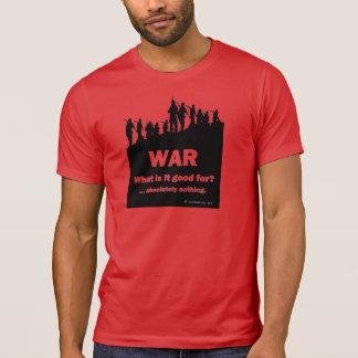 Pour Guerre-quoi est-ce bon ?  Le T-shirt rouge 2