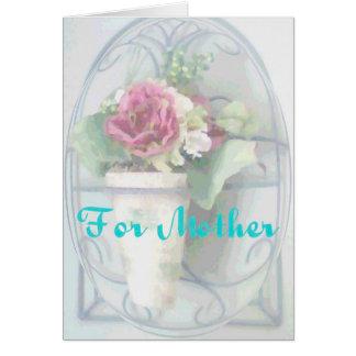 Pour la mère carte de vœux