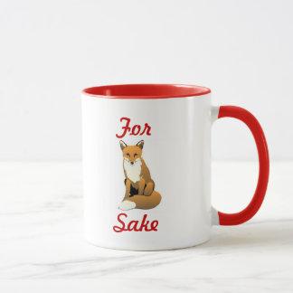 pour la tasse de saké de renard