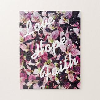 Pour l'amour - amour, espoir, puzzle de foi