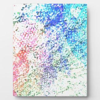 Pour l'amour de couleur - pastel de kaléidoscope impression sur plaque