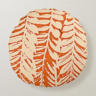 Pour l'amour de la nature - orange coussins ronds