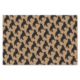 Pour l'amour des chiens de montagne de Bernese Papier Mousseline