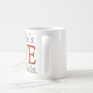 Pour l'amour des goldendoodles mug