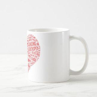 """""""Pour l'amour tasse de contredanse écossaise"""""""