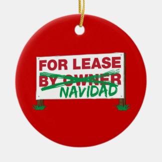 Pour le bail Navidad - le Noël drôle de Feliz Navi Ornements