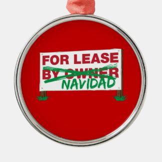 Pour le bail Navidad - le Noël drôle de Feliz Navi Décorations De Noël