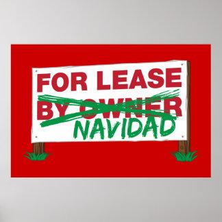 Pour le bail Navidad - le Noël drôle de Feliz Navi Poster