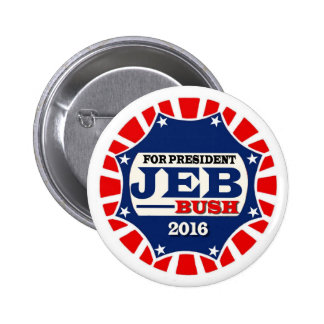 Pour le Président Jeb Bush 2016 Badge
