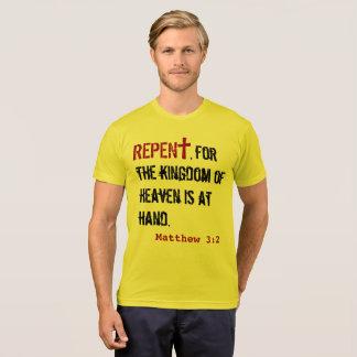 pour LUI (adulte) : 3:2 de Matthew + Agit le 3h19 T-shirt