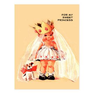 Pour ma princesse douce. Cartes postales de