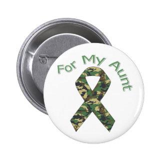 Pour ma tante Military Ribbon Pin's